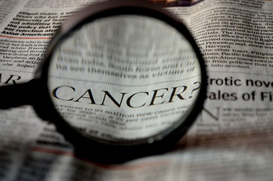 Cancer Word NewsPaper Health Prevention